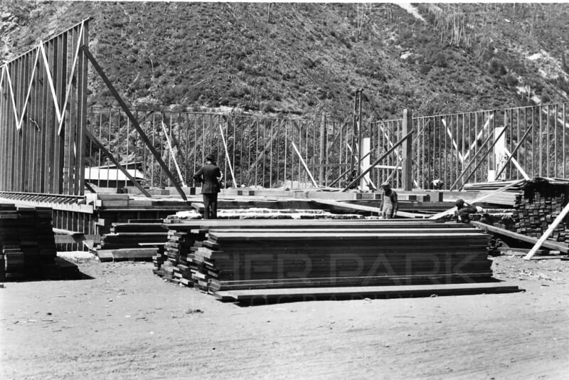 Ferde Greene Photo<br /> 7/27/1914 1130AM New Store building in Michel BC<br /> 1/25 f11<br /> 6181