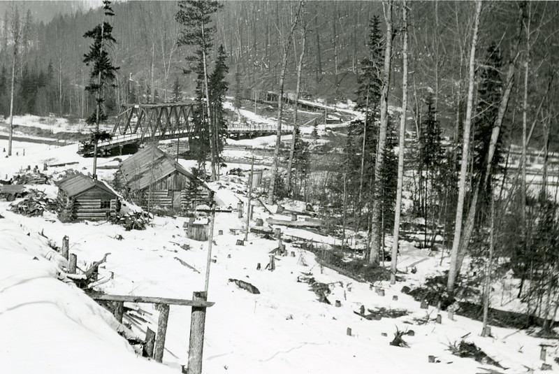 Ferde Greene Photo<br /> 3/22/1914<br /> Ernie Easterbrook's Camp or Eddy's<br /> 1/25 f11<br /> 46
