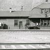 Ferde Greene Photo<br /> 4/20/1914 <br /> Michel British Columbia Train Depot<br /> 1/25 f11<br /> 116