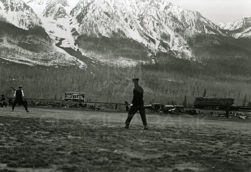 Ferde Greene Photo<br /> 1913 Baseball Game<br /> 1116