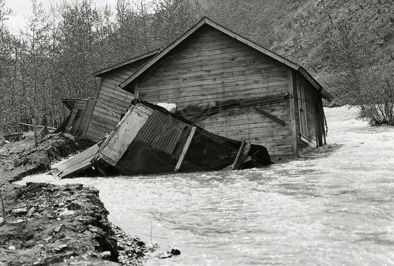 Ferde Greene Photo<br /> Floading Elk River <br /> 2122