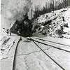 Ferde Greene Photo<br /> Train Steam Engine, Michel, BC<br /> 2100
