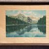 Hand Tinted Lake Josephine Many Glacier