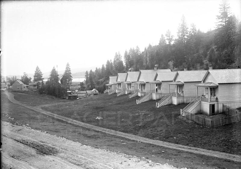 Historic cabins built in Somers