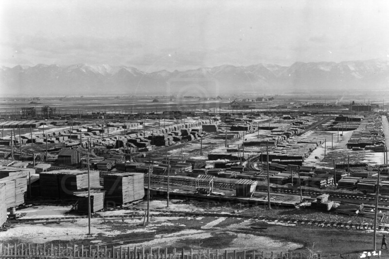 Ferde Greene Photo<br /> 2/27/1915 10 AM Somers Tie Plant<br /> 1/25 f11<br /> 5221