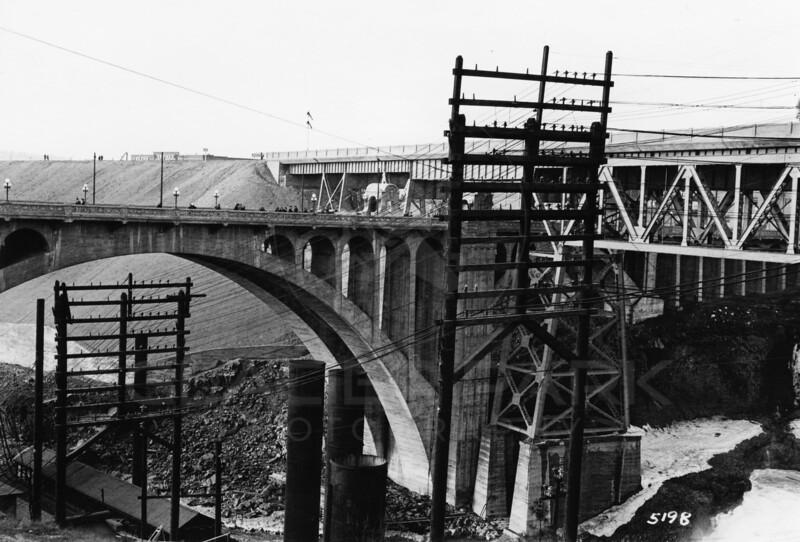 Spokane River, 1915 Spokane, Washington