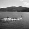 Waterskiing on Whitefish Lake 1950's