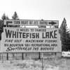 Whitefish Chamber Sign 1966