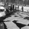 1952 Moving Ice from Whitefish Lake