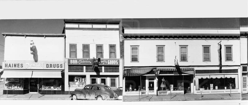 Downtown Whitefish 1952