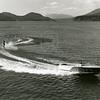Water skiing on Whitefish Lake 1950's