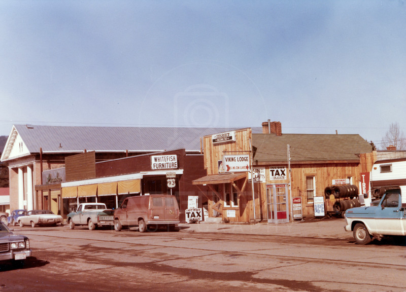 2nd Ave Whitefish 1970's