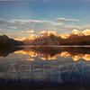 Lake McDonald Sunset Panoramic