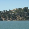 on the ferry from Pier 41 to Tiburon for a bike tour