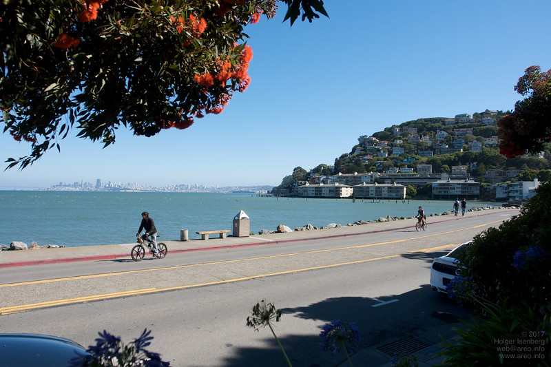 View from Sausalito to San Francisco