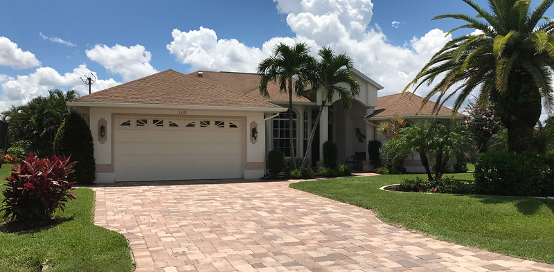 Magnificent Direct Sailboat Access Waterfront Pool Home For Sale in Cape Coral, Florida