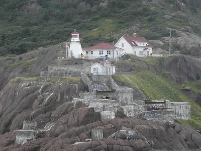 Closer look at Fort Amherst