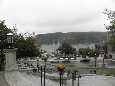View to the harbor
