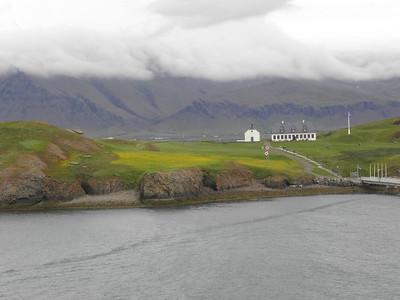 Viðey Church and Viðey House
