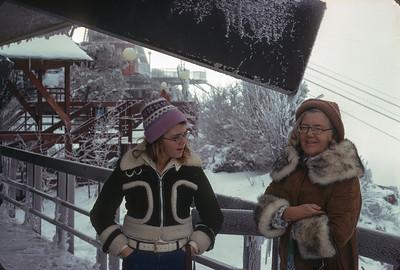 Dorothy Sell And Theresa, Trip To Albuquerque, November 1974