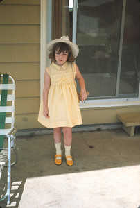 Theresa's Easter Outfit, April 14, 1968