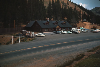 Monarch Pass Crest House,  Colorado Vacation.  August, 1965