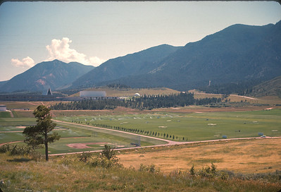 Air Force Academy. Colorado Vacation.  August, 1965