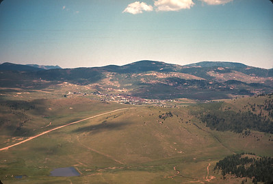 Cripple Creek, CO Taken From Top Of Mt. Pisgah. Colorado Vacation.  August, 1965