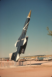 Bomarc Missle At Air Force Academy. Colorado Vacation.  August, 1965