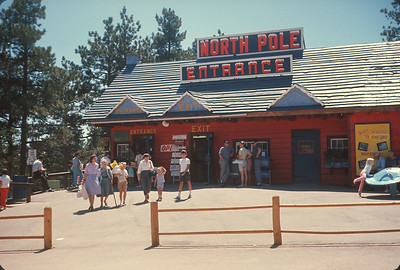 North Pole. Near Manitou Springs, Colorado Vacation.  August, 1965