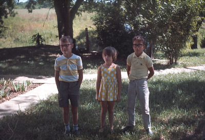 Rodger, Royce And Theresa, Master's Reunion, Kansas, August 27, 1967