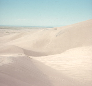 Vacation, Great Sand Dunes, Colorado, August, 1970