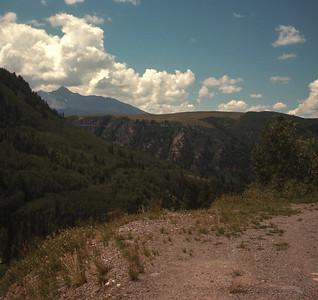 Taken Along Road To Telluride, Colorado,  August 19, 1970