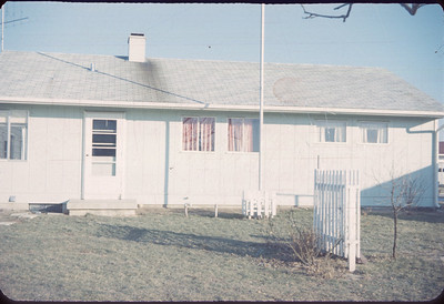 Our Home In Brownsburg 1959
