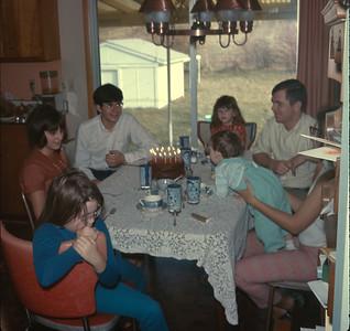Wayne's Birthday, Platte City, MO, December 14, 1969