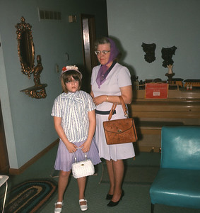 Dorothy And Theresa, Platte City, MO, 1971