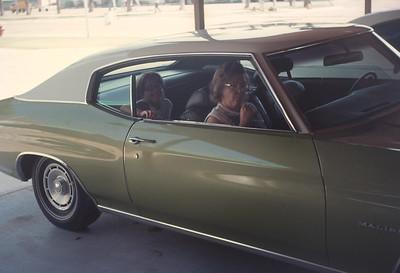 Dorothy And Theresa In Malibu, Pheonix, AZ, August 1971