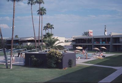 Hotel In Pheonix, Pheonix, AZ, August 1971