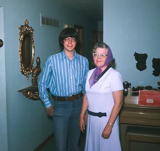 Dorothy And Wayne, Platte City, MO, 1971
