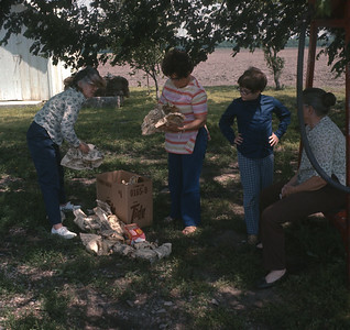 Dorothy, Theresa, Gladys, Aunt Doris, KS, 1971