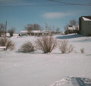 Backyard, Platte City, MO, 1970