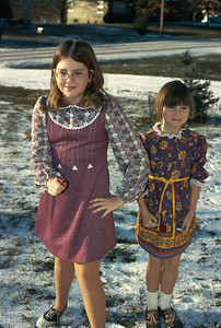 Theresa, Carey Sue, Winter 1972, Platte City, MO, 1972