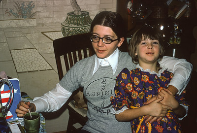 Chris Turner, Carey Sue Turner, December 1972, Platte City, MO, December 1972