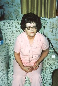 Doris Hicks, Harveyville, KS, December 1972