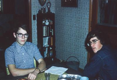 Royce Hicks, Roger Hicks, Harveyville, KS, December 1972