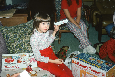 Carey Sue Tuner, Christmas 1972, Platte City, MO, December 1972