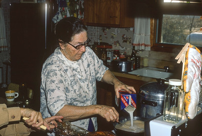 Gladys Pert, Harveyville, KS, December 1972