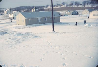 Home.  Platte City, January, 1962