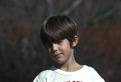 Billy Turner, Harveyville, KS, November, 1973