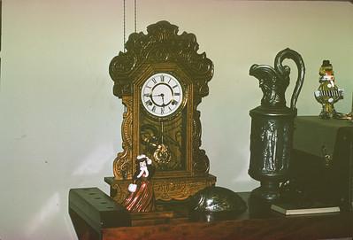Clock, Platte City, MO, November, 1973